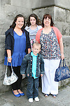 Jade Farrell, Shannon Owens, Scott Owens and Lynn Owens at the Confirmation in St.Mary's Church...Photo NEWSFILE/Jenny Matthews.(Photo credit should read Jenny Matthews/NEWSFILE)....This Picture has been sent you under the condtions enclosed by:.Newsfile Ltd..The Studio,.Millmount Abbey,.Drogheda,.Co Meath..Ireland..Tel: +353(0)41-9871240.Fax: +353(0)41-9871260.GSM: +353(0)86-2500958.email: pictures@newsfile.ie.www.newsfile.ie.FTP: 193.120.102.198.