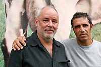 Julien CLERC et Maxime le Forestier<br /> 2005<br /> © NOISETTE/ DALLE
