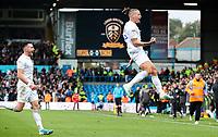 Leeds United's Kalvin Phillips celebrates scoring the opening goal  <br /> <br /> Photographer Alex Dodd/CameraSport<br /> <br /> The EFL Sky Bet Championship - Leeds United v Birmingham City - Saturday 19th October 2019 - Elland Road - Leeds<br /> <br /> World Copyright © 2019 CameraSport. All rights reserved. 43 Linden Ave. Countesthorpe. Leicester. England. LE8 5PG - Tel: +44 (0) 116 277 4147 - admin@camerasport.com - www.camerasport.com