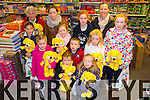 Sarah Kavanagh, Seamus Keenan, Roisin Keenan, Evelyn Fox, Amy Heaphy, Thomas Galvin, Ciara Galvin, Maura Moriarty, Aine Cournane, Maeve Fitzgerald, Jennifer Williams, Leanna Williams at Caballs Toystore prize presentation on Saturday