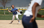 wildcats' Makaylee Jaussi makes a play against College of Southern Nevada at Edmonds Sports Complex Carson City, Nev., on Saturday, May 2, 2015.<br /> Photo by Cathleen Allison