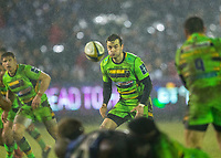 Northampton Saints' Stephen Myler<br /> <br /> Photographer Bob Bradford/CameraSport<br /> <br /> Anglo-Welsh Cup Semi Final - Bath Rugby v  Northampton Saints - Friday 9th March 2018 - The Recreation Ground - Bath<br /> <br /> World Copyright &copy; 2018 CameraSport. All rights reserved. 43 Linden Ave. Countesthorpe. Leicester. England. LE8 5PG - Tel: +44 (0) 116 277 4147 - admin@camerasport.com - www.camerasport.com