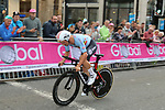 Victor Campenaerts (BEL) in action during the Men Elite Individual Time Trial of the UCI World Championships 2019 running 54km from Northallerton to Harrogate, England. 25th September 2019.<br /> Picture: Seamus Yore | Cyclefile<br /> <br /> All photos usage must carry mandatory copyright credit (© Cyclefile | Seamus Yore)