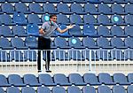 Fernando Vazquez head coach (RC Deportivo de la Coruna) gestures during La Liga Smartbank match round 39 between Malaga CF and RC Deportivo de la Coruna at La Rosaleda Stadium in Malaga, Spain, as the season resumed following a three-month absence due to the novel coronavirus COVID-19 pandemic. Jul 03, 2020. (ALTERPHOTOS/Manu R.B.)