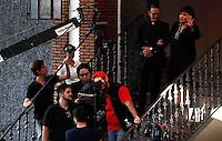 Carmen Salinas durante  grabacion de la pelicula Kilo por Gramo <br /> Febrero del 2014.<br /> (*Foto:TiradorTercero/NortePhoto*)