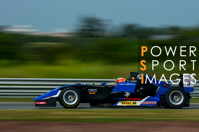 Alessio Picariello of Belgium and Absolute Racing drives during the Formula Masters China Series as part of the 2015 Pan Delta Super Racing Festival at Zhuhai International Circuit on September 20, 2015 in Zhuhai, China.  Photo by Aitor Alcalde/Power Sport Images