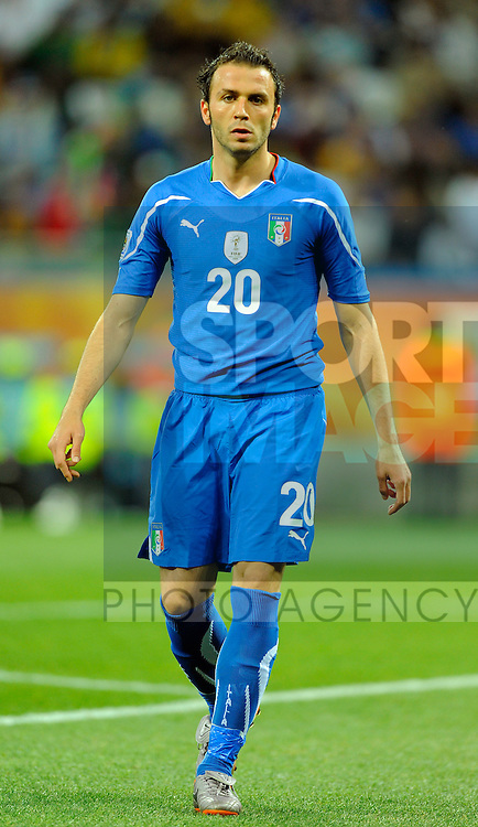 Giampaolo Pazzini of Italy