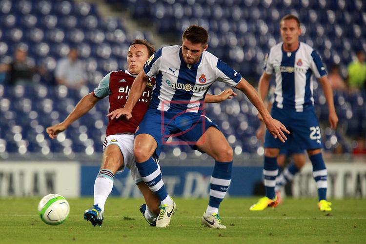 XXXIX Trofeu Ciutat de Barcelona.<br /> XVII Memorial Fernando Lara.<br /> 2013-09-05:RCD Espanyol vs West Ham United FC: 0-1.<br /> Noble vs David Lopez.