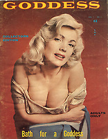 BNPS.co.uk (01202 558833)<br /> Pic: BTWAuctions/BNPS<br /> <br /> The collection includes a vintage 'Goddess' magazine.<br />  <br /> One man's 50 year collection of vintage adult magazines is tipped to sell for £40,000.<br /> <br /> The huge stash of erotic literature was found neatly stored in dozens of indexed box files by a stunned auctioneer called to value an unusual collection.<br /> <br /> The glamour magazines, books and photographs date as far back at the 1950s and are mostly in immaculate condition.<br /> <br /> Many of the magazines, that include titles such as Playboy, Mayfair Penthouse and Hustler, are still in their original envelopes from where they had been posted.