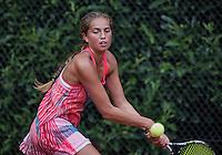 Hilversum, Netherlands, August 10, 2016, National Junior Championships, NJK, Flory Bierma (NED)<br /> Photo: Tennisimages/Henk Koster