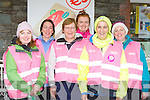 keeping fit at  the Centra think pink charity in Glenbeigh on Saturday l-r:  Sheila Page, Joanne and Bridget murphy, Lorna Griffin, Veronica Sugrue and Marian Casey