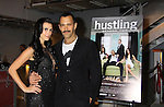 "Castmate Jessica Press poses with Sebastian at a private screening of Sebastian La Cause's web series ""Hustling"" Season Two - 'cause everybody got a hustle -  was held on November 19, 2012 at TriBeca's Cinemas, New York City, New York. Days of our Lives ""Silvio"", One Live To Live and All My Children's Sebastian is the creator of Hustling along with being the writer, director and star (Photo by Sue Coflin/Max Photos)"