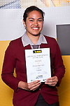 Girls Volleyball winner Eseta Mark from McAuley High School. ASB College Sport Auckland Secondary School Young Sports Person of the Year Awards held at Eden Park on Thursday 12th of September 2009.