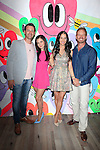 "WEST HOLLYWOOD - JUN 15: Sean McEwen, Tammin Sursok, Erin Ziering, Ian Ziering at the ""At Home with the Zierings"" Blog Launch Party at Au Fudge on June 15, 2016 in West Hollywood, California"