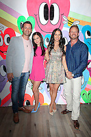 """WEST HOLLYWOOD - JUN 15: Sean McEwen, Tammin Sursok, Erin Ziering, Ian Ziering at the """"At Home with the Zierings"""" Blog Launch Party at Au Fudge on June 15, 2016 in West Hollywood, California"""