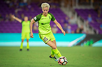Orlando, FL - Thursday September 07, 2017: Megan Rapinoe during a regular season National Women's Soccer League (NWSL) match between the Orlando Pride and the Seattle Reign FC at Orlando City Stadium.