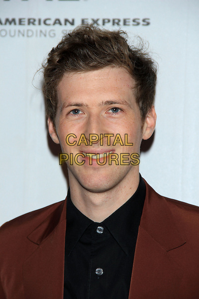 """Daryl Wein (Director).The 2012 Tribeca Film Festival World Premiere of """"Lola Versus"""" at the Tribeca Performing Arts Center, New York, NY, USA..April 24th, 2012.headshot portrait black shirt brown.CAP/LNC/TOM.©LNC/Capital Pictures."""