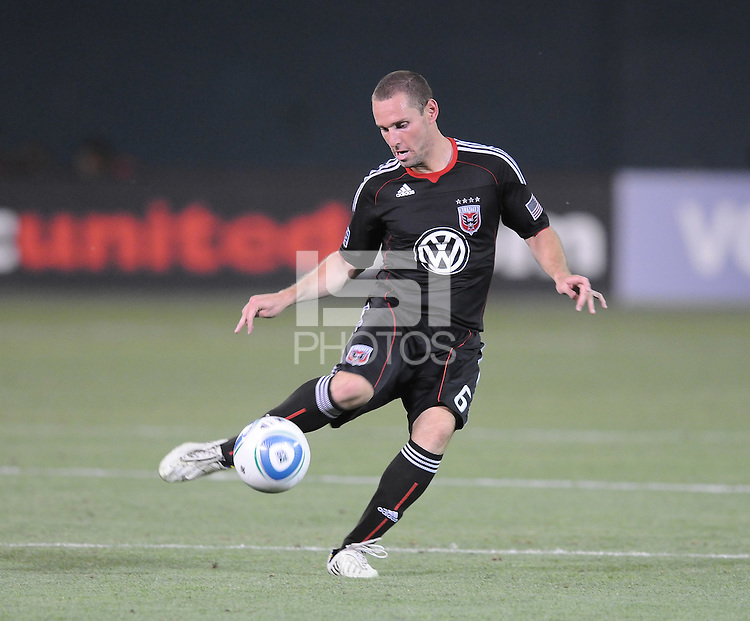 DC United midfielder Kurt Morsink (6)   DC United defeated Real Salt Lake 2-1 to advance to the round of 16 of the  U.S. Open Cup at RFK Stadium, Wednesday  June 2  2010.