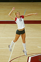11 August 2005: Erin Waller during picture day at Maples Pavilion in Stanford, CA.