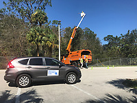 2017 FPL Hurricane Irma restoration in Fort Myers, Fla. on Sept. 13, 2017.