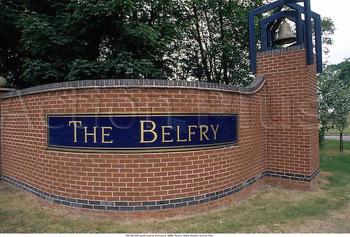 THE BELFRY golf course entrance, 8906. Photo: Mike Hewitt/Action Plus...1989.courses.venues venue.england