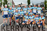 Kerry Crusaders from Ballybunion and Listowel up bright and early on Saturday for the Ring of Kerry cycle pictured here at 6.30am in Killarney.