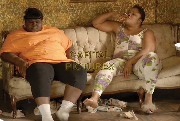 Gabourey 'Gabby' Sidibe & Mo'Nique (Monique Imes).in Precious.*Filmstill - Editorial Use Only*.CAP/PLF.Supplied by Capital Pictures.