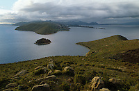View of Lake Tiiticaca