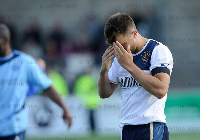 Dejection from Chris Hegarty