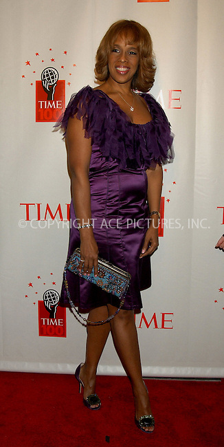 WWW.ACEPIXS.COM . . . . . ....NEW YORK, MAY 8, 2006....Gayle King at Time Magazine's 100 Most Influential People 2006.....Please byline: KRISTIN CALLAHAN - ACEPIXS.COM.. . . . . . ..Ace Pictures, Inc:  ..(212) 243-8787 or (646) 679 0430..e-mail: picturedesk@acepixs.com..web: http://www.acepixs.com