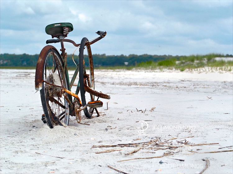 Bike in the Sand