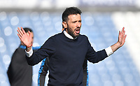 Huddersfield Town's Manager Carlos Corberan<br /> <br /> Photographer Dave Howarth/CameraSport<br /> <br /> The EFL Sky Bet Championship - Huddersfield Town v Norwich - Saturday September 12th 2020 - The John Smith's Stadium - Huddersfield<br /> <br /> World Copyright © 2020 CameraSport. All rights reserved. 43 Linden Ave. Countesthorpe. Leicester. England. LE8 5PG - Tel: +44 (0) 116 277 4147 - admin@camerasport.com - www.camerasport.com