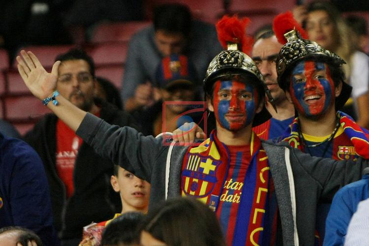 League Santander 2016/2017. Game: 10.<br /> FC Barcelona vs Granada CF: 1-0.