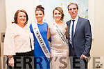 Ann Lynch,Norma Fitzgerald,Holly Lynch and Paul Lynch before the start of the Kerry Rose Selection on Saturday night at Ballyroe Heights Hotel