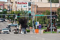 Street scenes Pueblo, Colorado with extreme telephoto lens. Taken on Aug 13, 2017