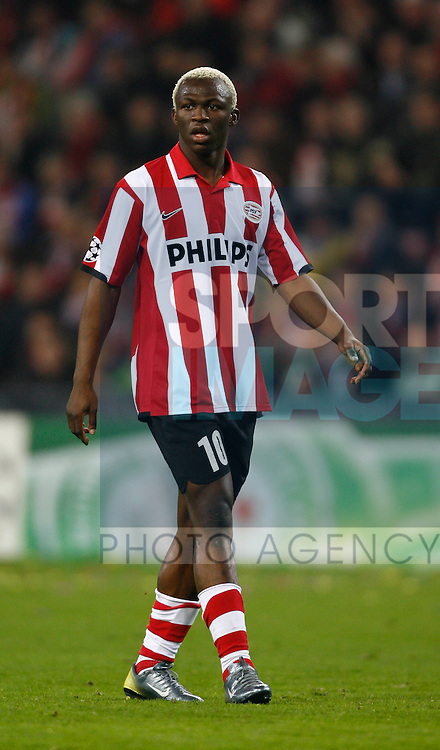 PSV Eindhoven's Arouna Kone
