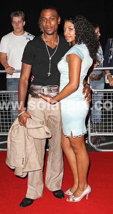 **ALL ROUND PICTURES FROM SOLARPIX.COM**.**WORLDWIDE SYNDICATION RIGHTS**.Guest arrive for the The 2007 MOBO Awards at London's O2 Arena, London, UK. 19th September 2007..This pic: Michael Obiora..JOB REF: 4772 SSD     DATE: 19_009_2007.**MUST CREDIT SOLARPIX.COM OR DOUBLE FEE WILL BE CHARGED* *UNDER NO CIRCUMSTANCES IS THIS IMAGE TO BE REPRODUCED FOR ANY ONLINE EDITION WITHOUT PRIOR PERMISSION*
