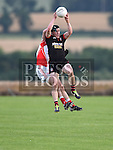 Mattock Rangers Adrian Reid St Brides Conor Deane. Photo:Colin Bell/pressphotos.ie