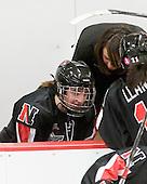 Brittany Esposito (NU - 7), ? - The Harvard University Crimson defeated the Northeastern University Huskies 1-0 to win the 2010 Beanpot on Tuesday, February 9, 2010, at the Bright Hockey Center in Cambridge, Massachusetts.