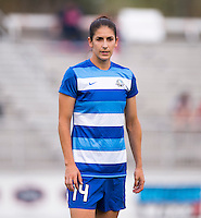 Boyds, MD- April 18, 2015: The Washington Spirit defeated FC Kansas City 3-1 during their National Women's Soccer League (NWSL) match at the Maryland SoccerPlex.