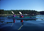 Kayakers off Orcas Island