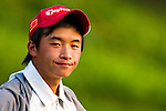 SHENZHEN, CHINA - OCTOBER 29:  Ren Han of China looks on during the day one of Asian Amateur Championship at the Mission Hills Golf Club on October 29, 2009 in Shenzhen, Guangdong, China.  (Photo by Victor Fraile/The Power of Sport Images) *** Local Caption *** Ren Han