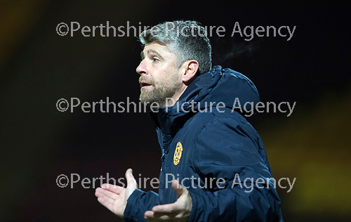 Motherwell v St Johnstone&hellip;06.02.18&hellip;  Fir Park&hellip;  SPFL<br />Motherwell manager Stephen Robinson<br />Picture by Graeme Hart. <br />Copyright Perthshire Picture Agency<br />Tel: 01738 623350  Mobile: 07990 594431
