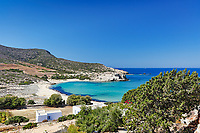 Livadia beach of Antiparos island in Cyclades, Greece