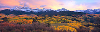 Sneffels Range in Autumn, San Juan Mountains, Colorado