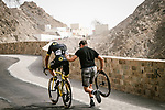 Mechanical for Damien Gaudin (FRA) Direct Energie during Stage 6 of the 10th Tour of Oman 2019, running 135.5km from Al Mouj Muscat to Matrah Corniche, Oman. 21st February 2019.<br /> Picture: ASO/P. Ballet | Cyclefile<br /> All photos usage must carry mandatory copyright credit (&copy; Cyclefile | ASO/P. Ballet)