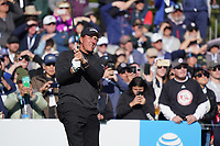 Phil Mickelson (USA) during the final round of the AT&T Pro-Am, Pebble Beach, Monterey, California, USA. 08/02/2020<br /> Picture: Golffile | Phil Inglis<br /> <br /> <br /> All photo usage must carry mandatory copyright credit (© Golffile | Phil Inglis)