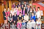Joan Lenihan Ballymac seated centre who celebrated her 30th birthday with her family and friends in the River Island Hotel, Castleisland on Saturday night..