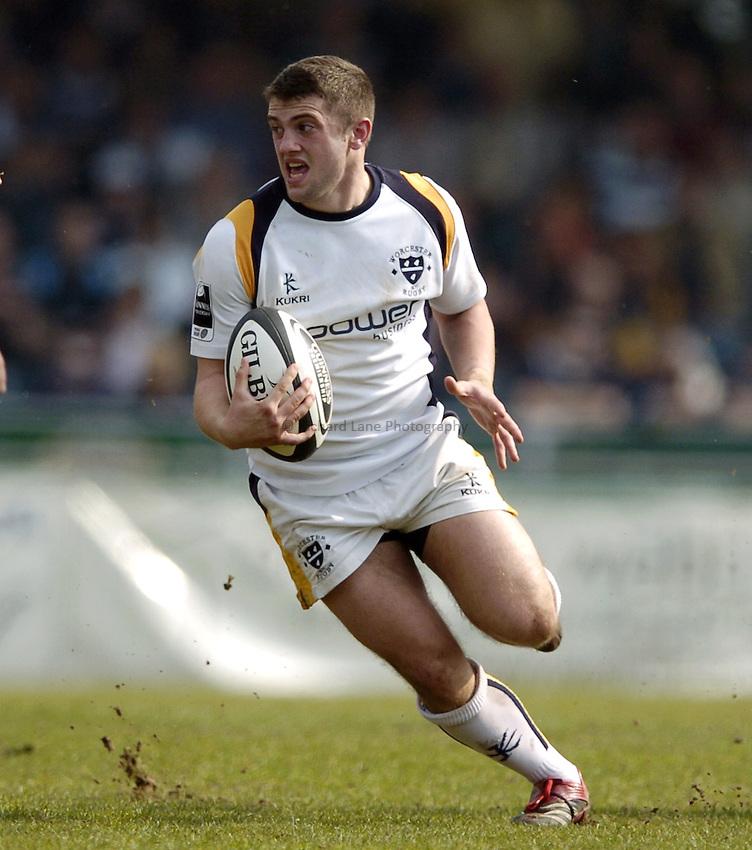 Photo: Jonathan Butler..Bristol Rugby v Worcester Rugby. Guinness Premiership. 07/04/2007..Nick Runciman of Worcester.