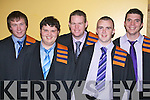 Pictured at the Institute of Technology, Tralee Autumn Conferring of Awards Ceremony on Friday, in the Brandon hotel were John Crowley, Killarney, Phillip Horan, Killarney, Kieran Fitzgerald, Killarney, Seamus Daly, Castlemaine and Daniel Collins, Gneeveguilla who graduated in Engineering.